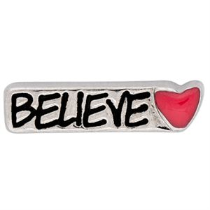 Picture of 'Believe' Silver Charm